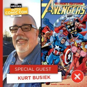Legendarische comic creators op Dutch Comic Con 2019 - Kurt Busiek