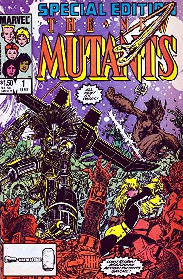 Legendarische comic creators op Dutch Comic Con 2019 - The New Mutants Special Edition 1
