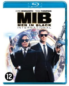 Men in Black International blu-ray dvd - blu-ray packshot