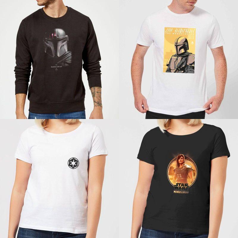 Modern Myths Merchandise – Black Friday 2019 - Star Wars The Mandalorian shirts 800