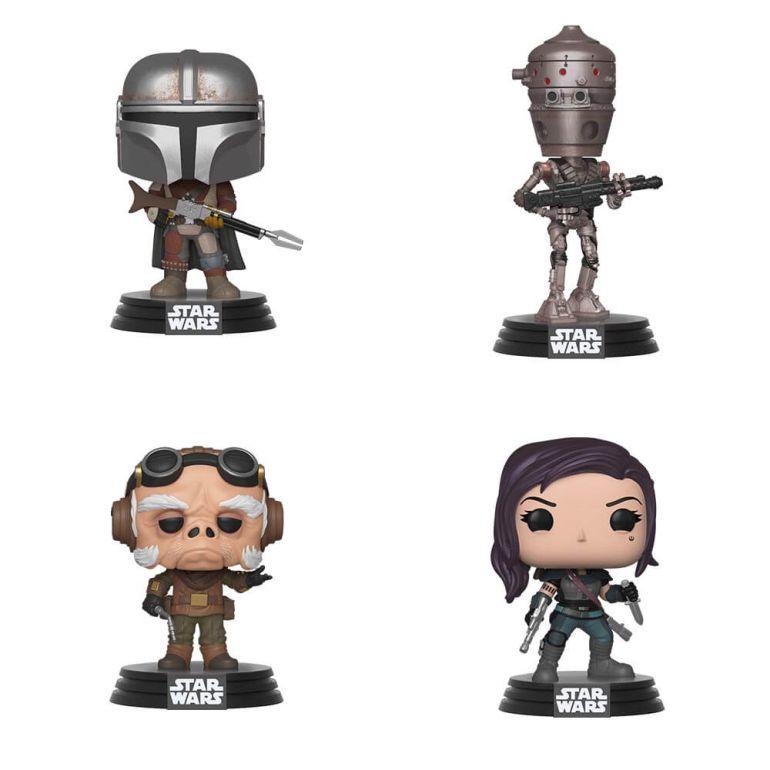 Star Wars The Mandalorian Funko Pops! 2bij2