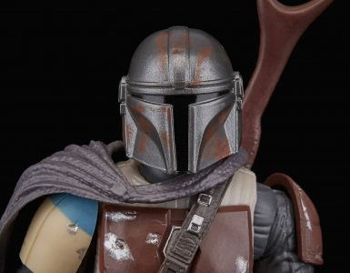Modern Myths Merchandise – Star Wars: The Mandalorian - Hasbro 6 inch figuur openingsbeeld uitsnede