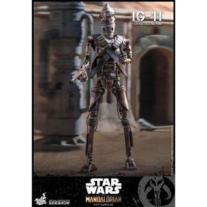 Star Wars The Mandalorian Hot Toys IG-11 36cm figuur