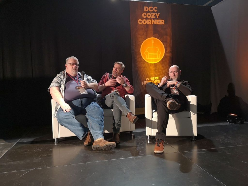 Dutch Comic Con 2019 Winter Edition Sfeerverslag - Cozy Corner panel Kurt Busiek en Carlos Pacheco