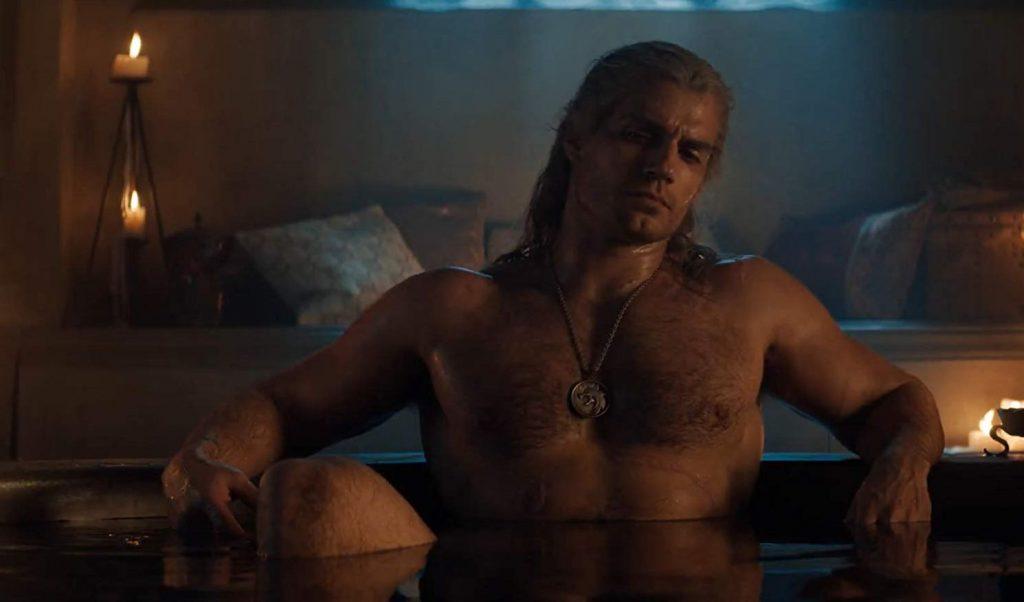 The Witcher - Netflix - Geralt in bad