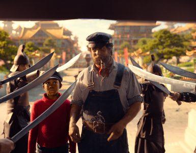 Jim Button & De Stad van de Draken - in de problemen