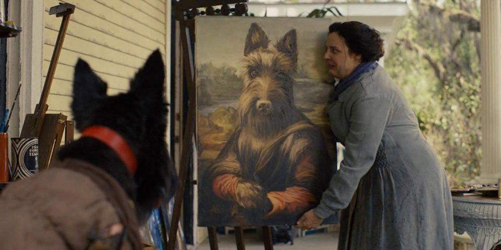 Lady en de Vagebond - Jock schilderij