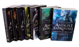 Modern Myths Merchandise – The Witcher - Andrzej Sapkowski 7 Book Set Collection (Witcher Series)_2