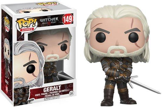 The Witcher: van bad tot muismat - FUNKO Pop! The Witcher: Geralt