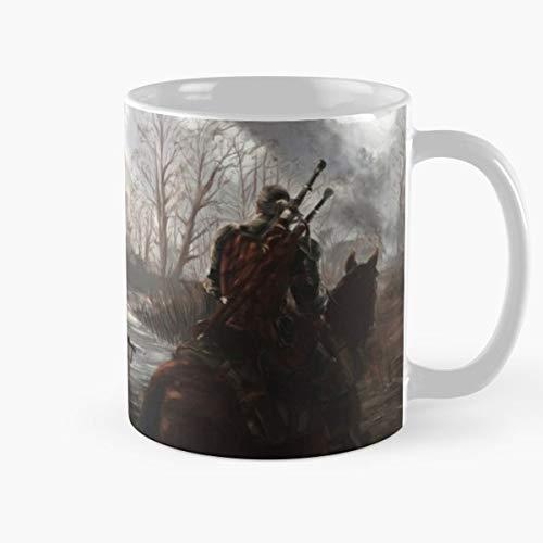 The Witcher: van bad tot muismat - The Witcher 3: Wild Hunt koffiebeker (oor)