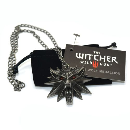 The Witcher: van bad tot muismat - White Wolf ketting accessoire