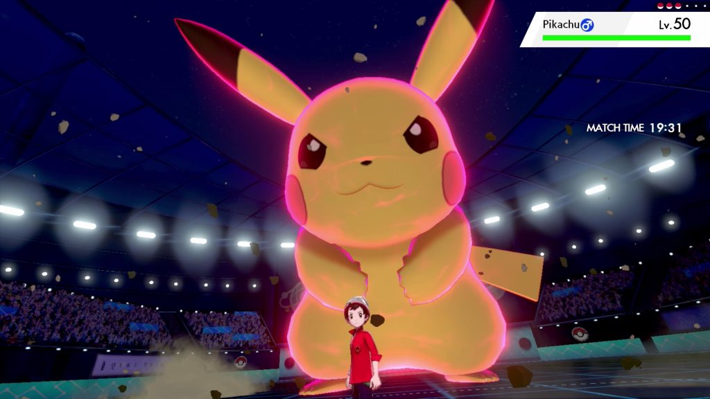 Pokémon Sword and Pokémon Shield - Gigantamax