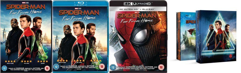 Spider-Man: Far From Home op blu-ray/dvd: dvd, blu-ray, 4K UHD en Zavvi.nl Steelbook