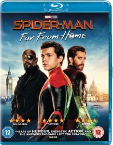 Spider-Man: Far From Home op blu-ray/dvd - blu-ray packshot