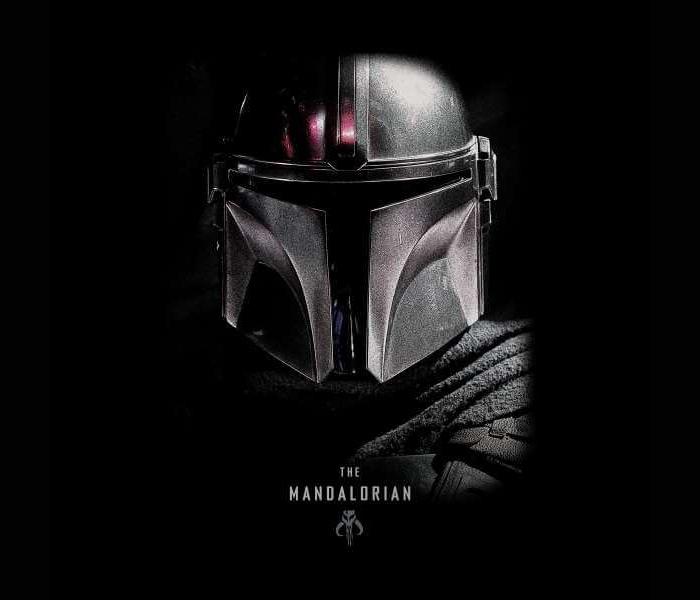 Star Wars: The Mandalorian winactie – Poster t-shirt zwart logo