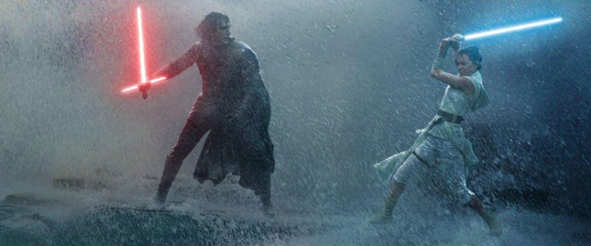 Star Wars: The Rise of Skywalker - Rey versus Kylo op zee