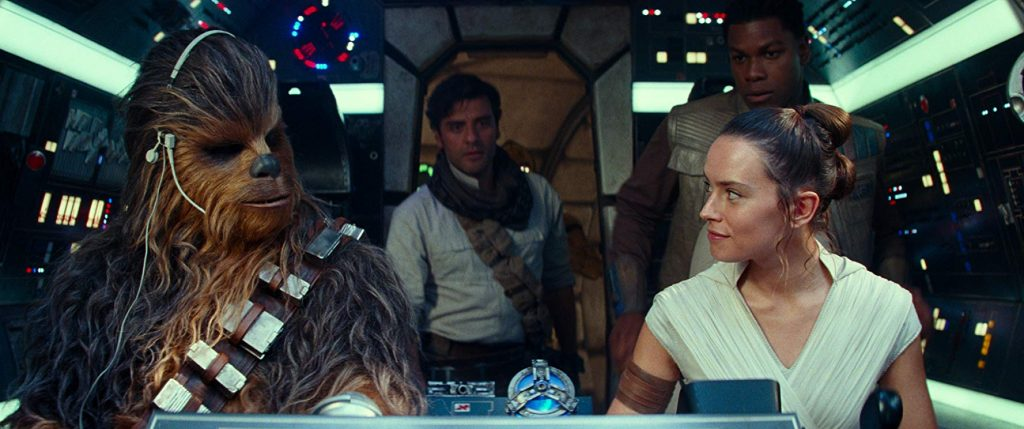 Star Wars The Rise of Skywalker - The Millennium Falcon familie