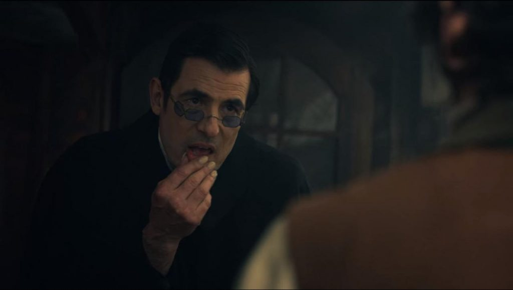 Dracula op Netflix - Dracula de pestkop