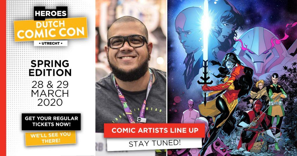 Heroes Dutch Comic Con 2020 - R.B. Silva