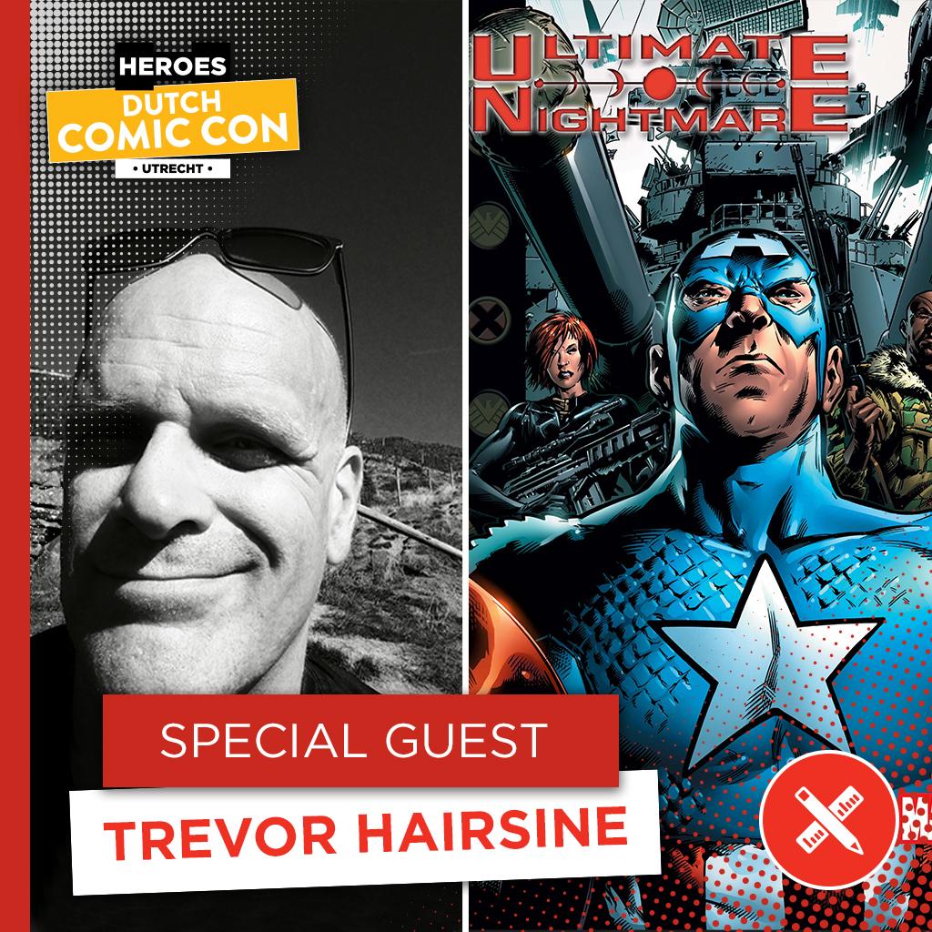 Heroes Dutch Comic Con 2020 - Trevor Hairsine