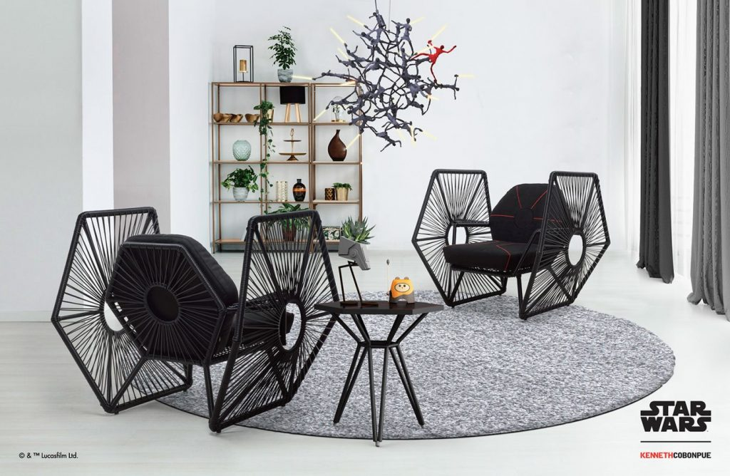 Modern Myths Nieuws 2020 Week 1 - Imperial TIE Fighter Wings stoelen