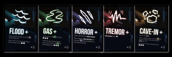 Sub Terra - spelkaartjes