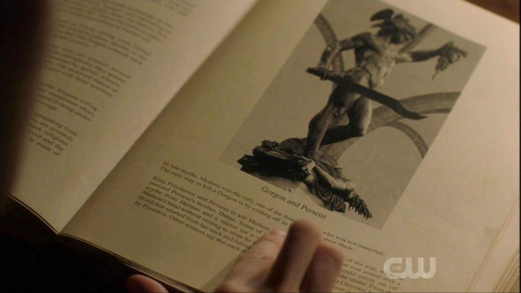 Supernatural seizoen 14 - Gorgon en Perseus
