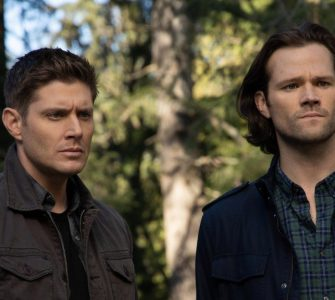Supernatural seizoen 14 - Jensen Ackles en Jared Padalecki uitsnede