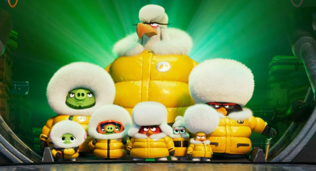 The Angry Birds Movie 2 - Dik ingepakt
