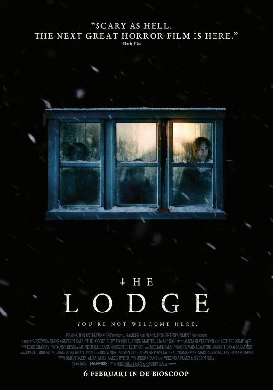 The Lodge winactie - poster