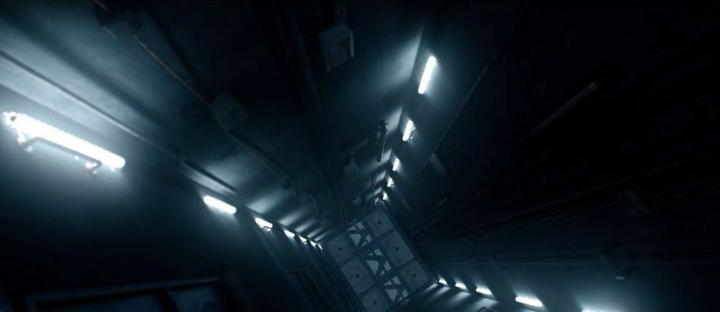 Into the Dark: Down - De lift