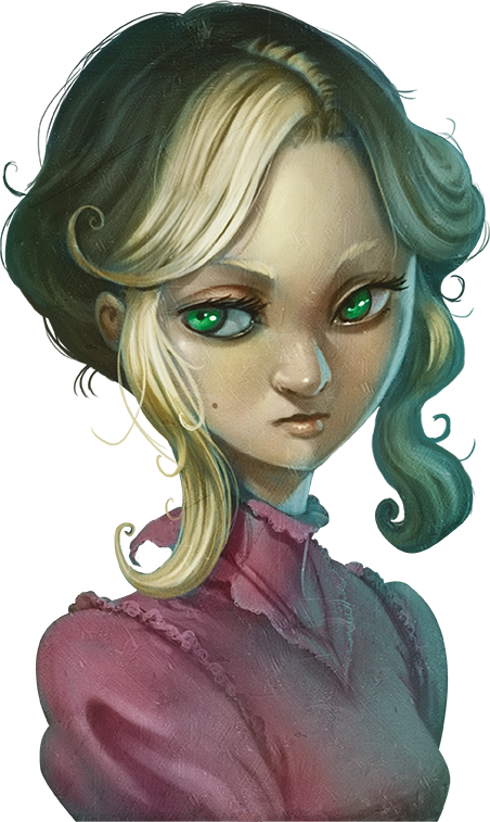 Mysterium Secret & Lies personage