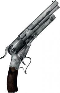 Mysterium moordwapen pistool