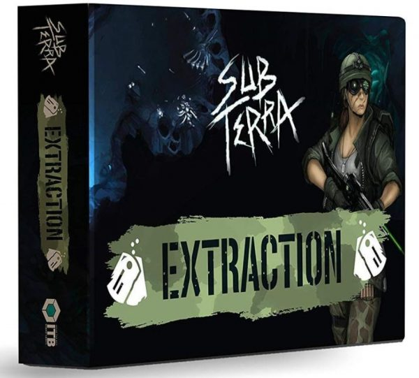 Sub Terra: Extraction packshot