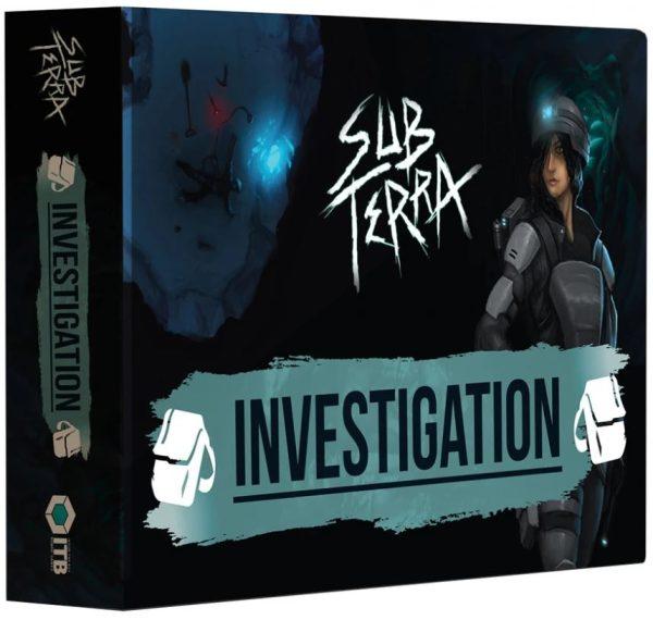 Sub Terra: Investigation packshot