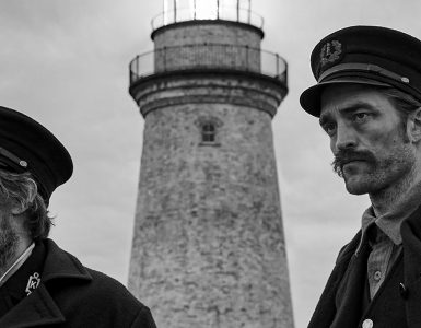 The Lighthouse - Willem Dafoe en Robert Pattinson uitsnede 2
