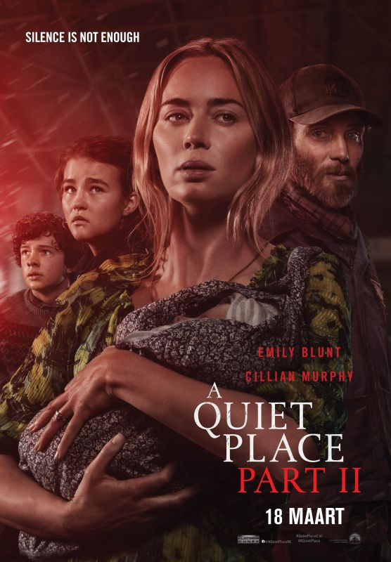 A Quiet Place Part II winactie poster