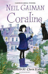 Coraline Neil Gaiman boek
