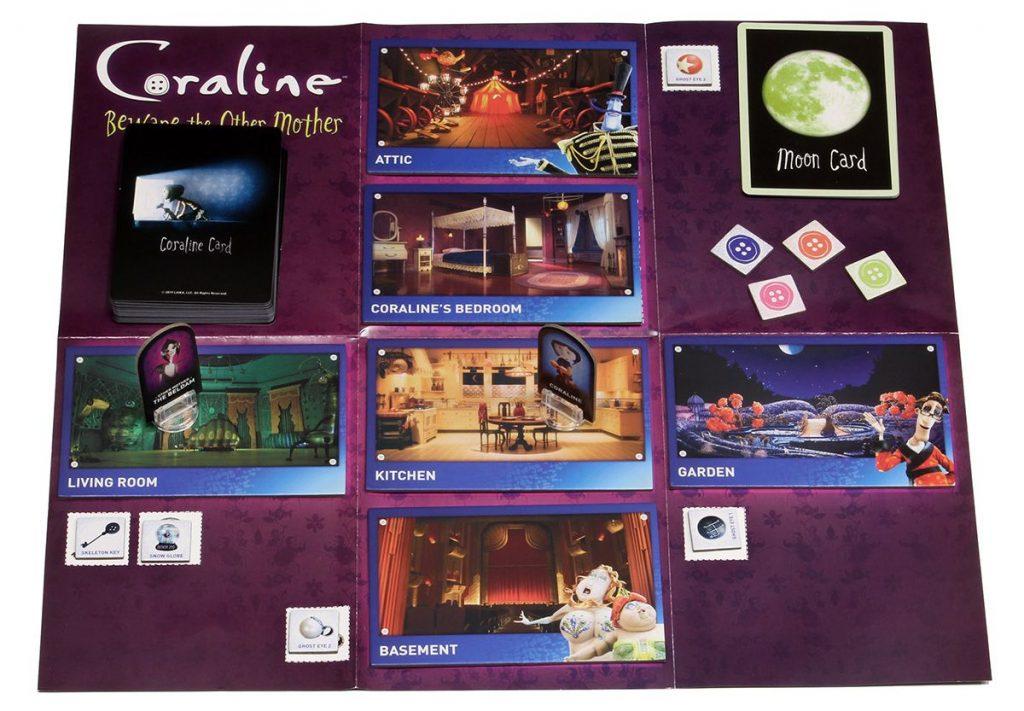 Coraline: Beware the Other Mother - spelopzet op spelbord 2
