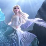 Frozen II blu-ray/dvd winactie - Elsa en de watergeest uitsnede