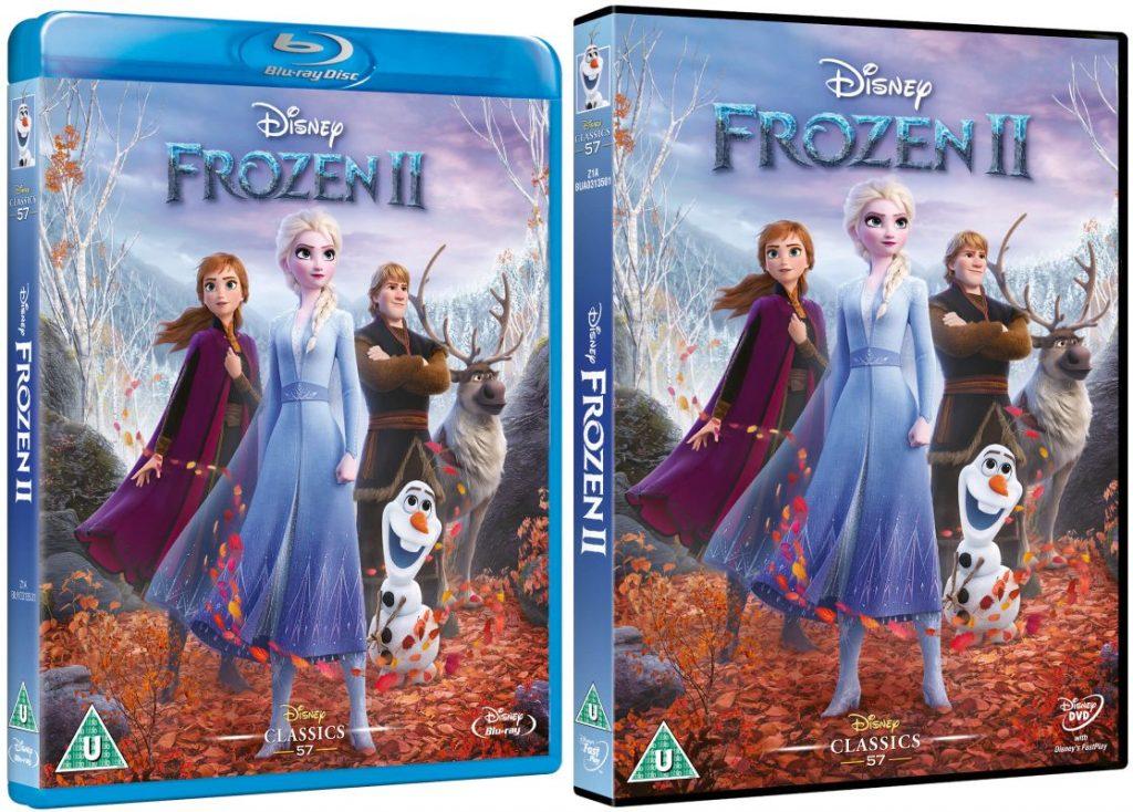 Frozen II blu-ray/dvd winactie - prijzen