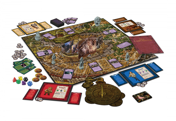 Labyrinth bordspel - speloverzicht