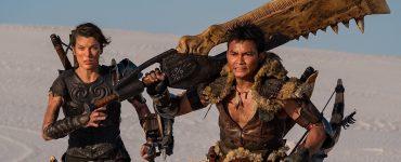 Modern Myths Nieuws 2020: Week 8-10 - Monster Hunter poster Milla Jovovich en Tony Jaa uitsnede