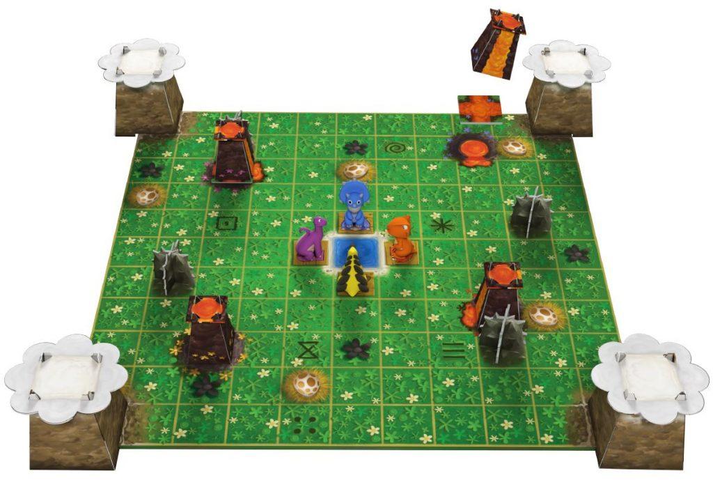 SOS Dino - speelbord 2