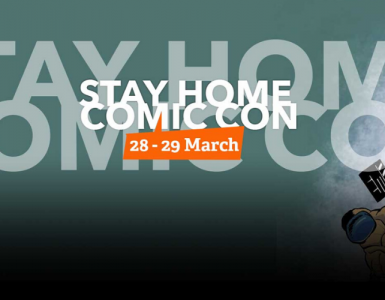 Stay Home Comic Con openingsbeeld 2