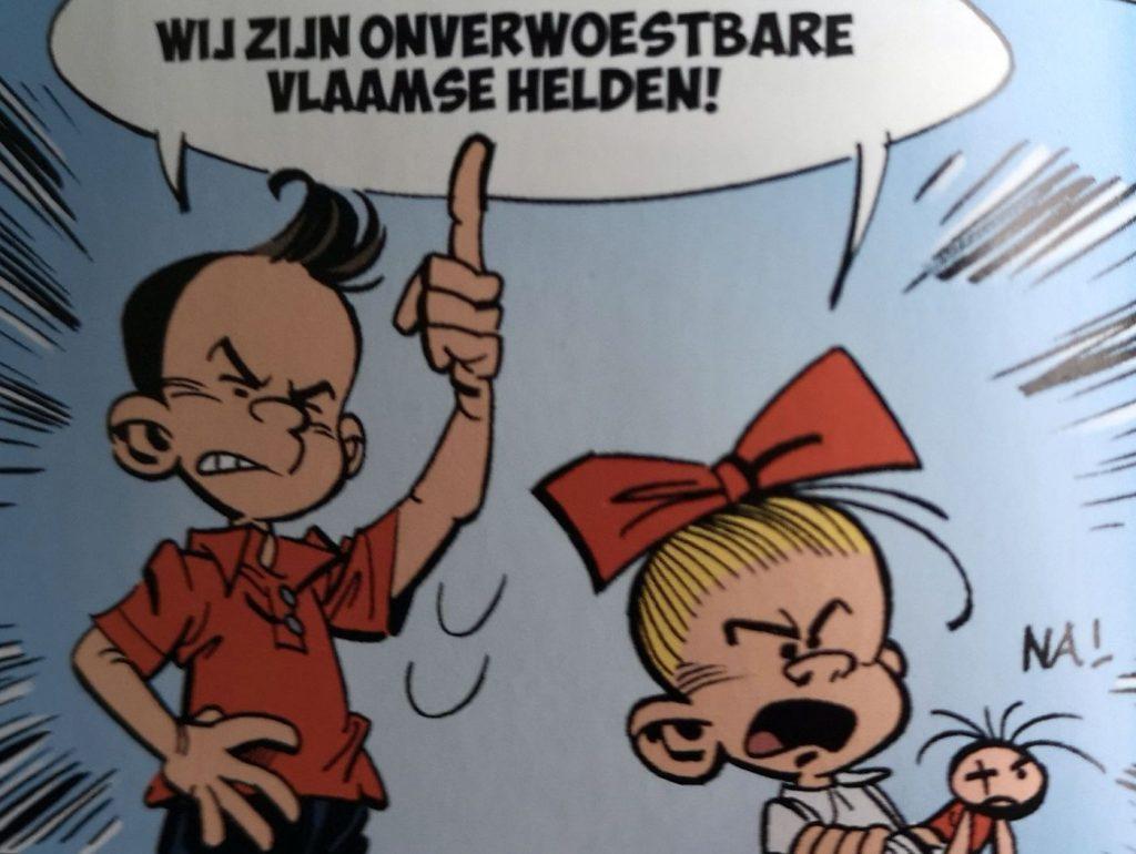 Suske en Wiske: De Kwakkelende Kwakzalver - Vlaamse helden