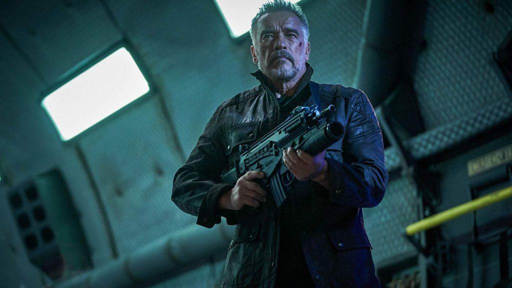 Terminator: Dark Fate blu-ray - Arnold Schwarzenegger