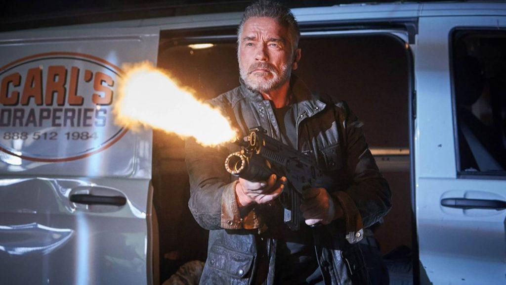 Arnold Schwarzenegger de stoffeerder