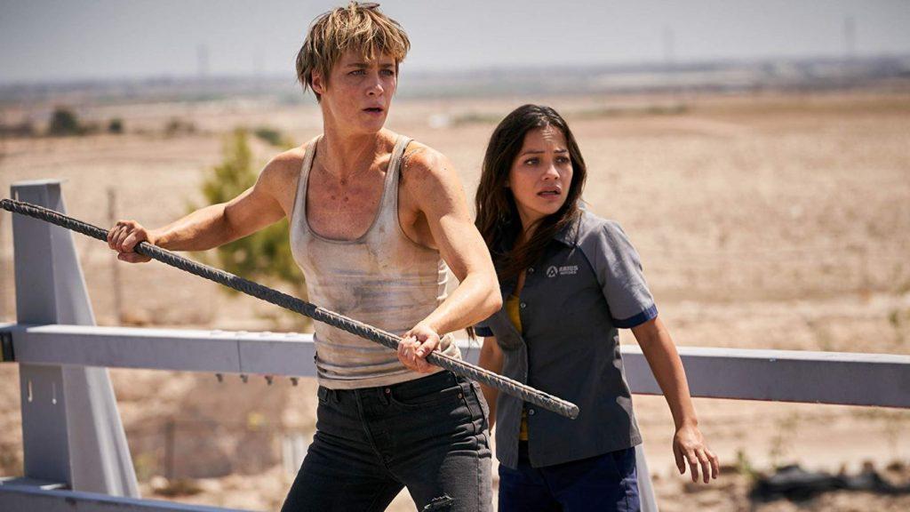 Terminator: Dark Fate blu-ray - Mackenzie Davies en Natalia Reyes