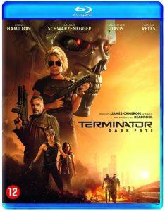 Terminator Dark Fate blu-ray packshot